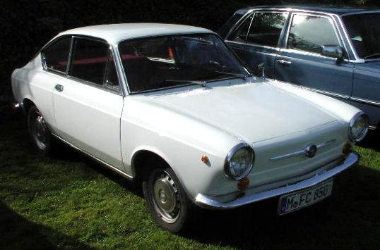 Le prime auto in italia - Fiat 850 coupe sport a vendre ...