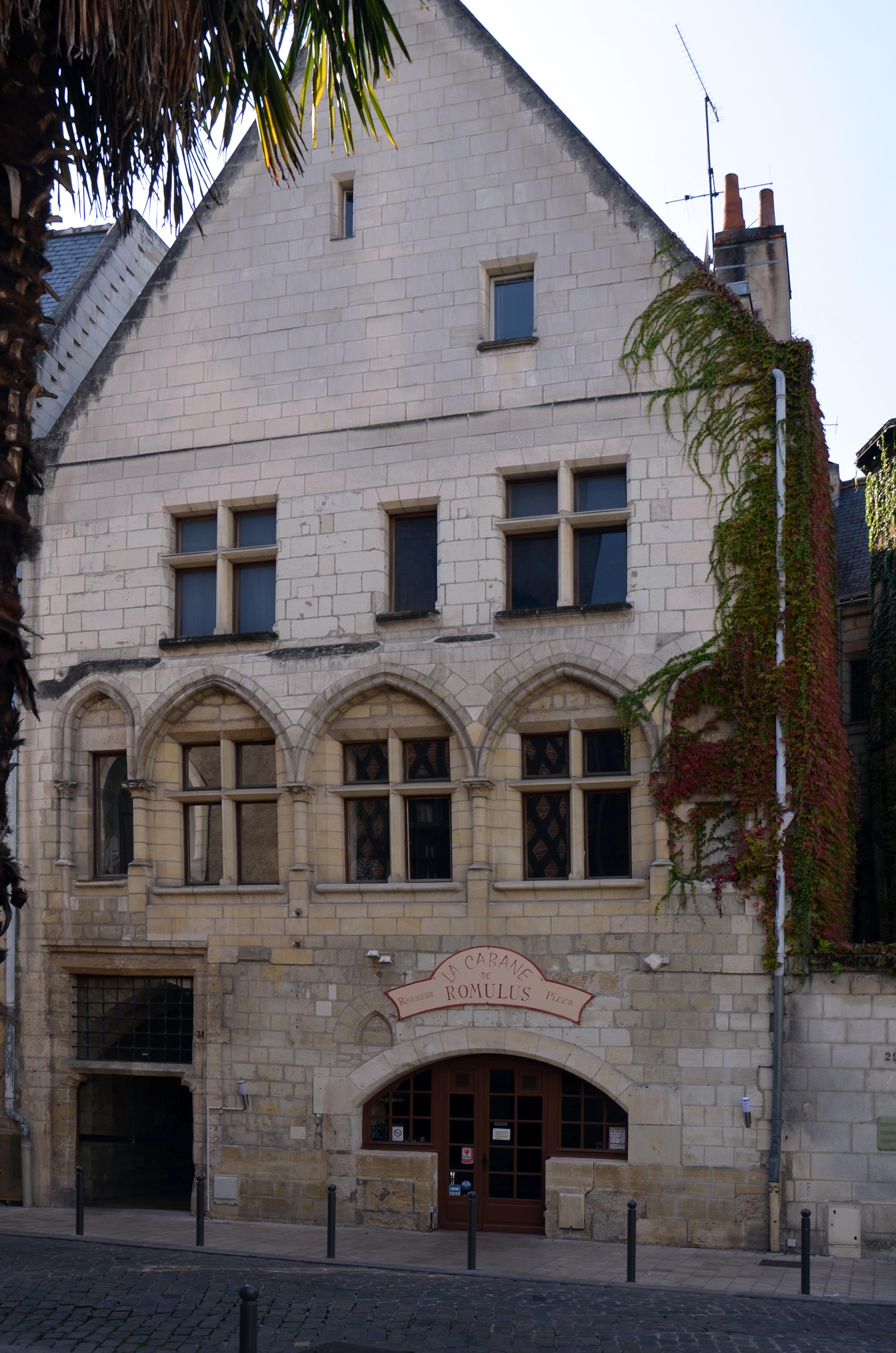 File maison du 13 eme siecle situe 31 rue briconnet a for B b maison rabelais de haan