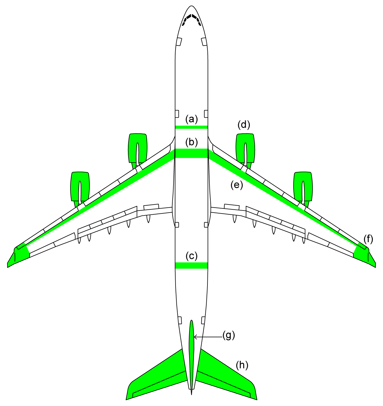 file major differences between a340 300 and a340 500 png wikimedia