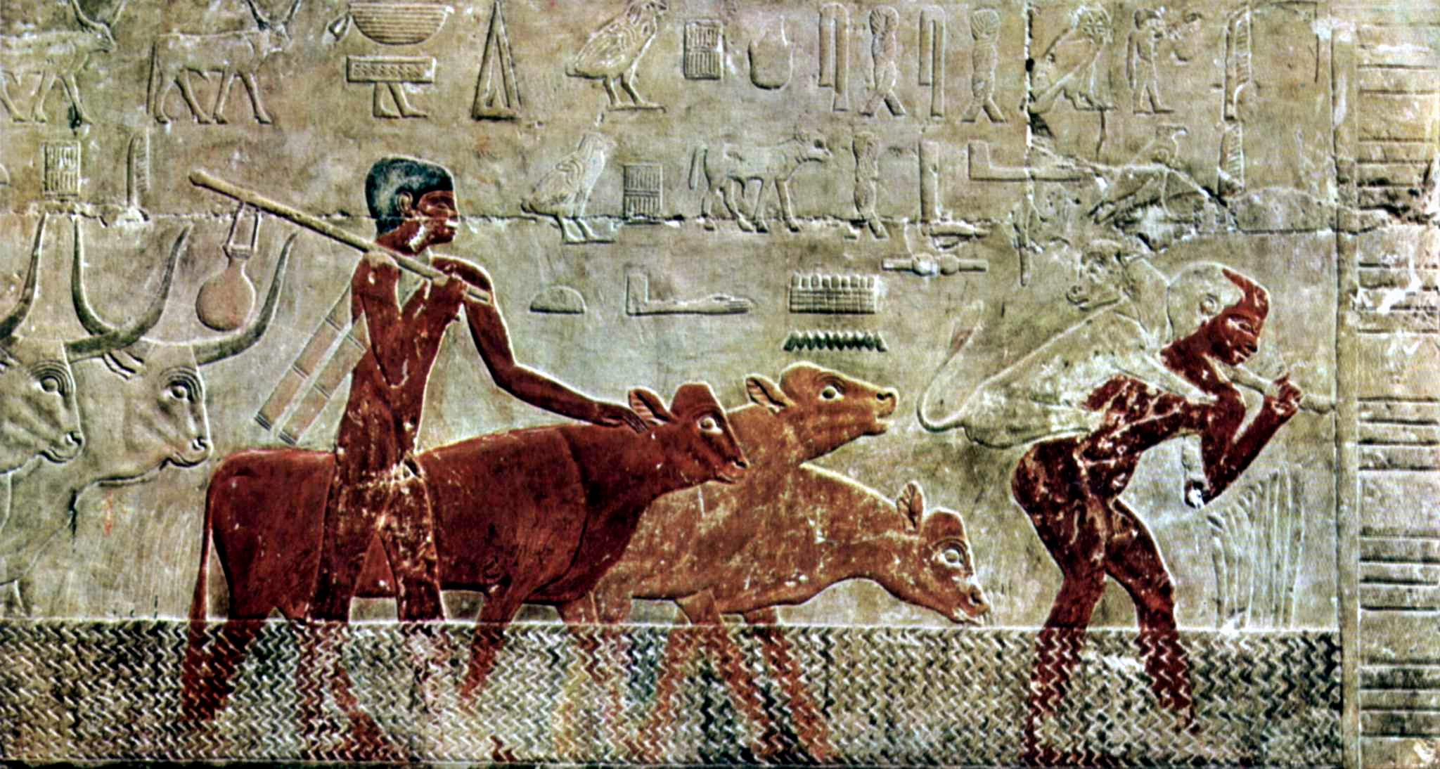 図4:2500 BCE頃のレリーフ。
