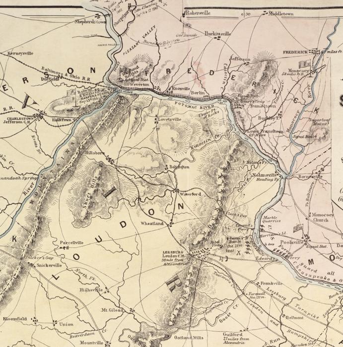 FileMap of northeast Virginia 1862jpg  Wikimedia Commons