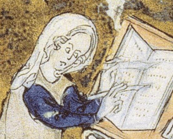 https://upload.wikimedia.org/wikipedia/commons/b/b0/Marie_de_France_detail_from_BNF_Arsenal_MS_3142_f_256.jpg