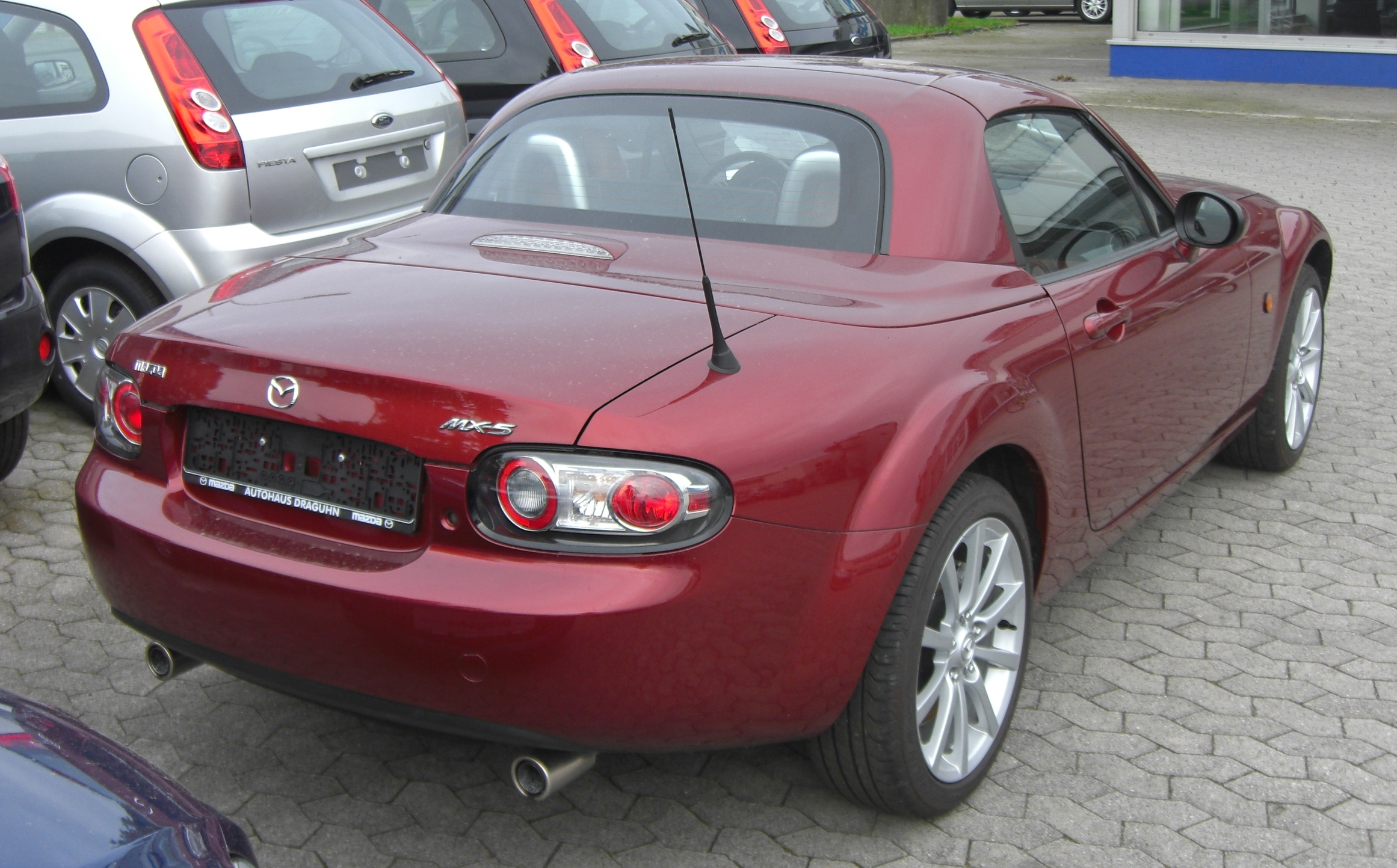 file mazda mx 5 nc rear jpg wikimedia commons. Black Bedroom Furniture Sets. Home Design Ideas