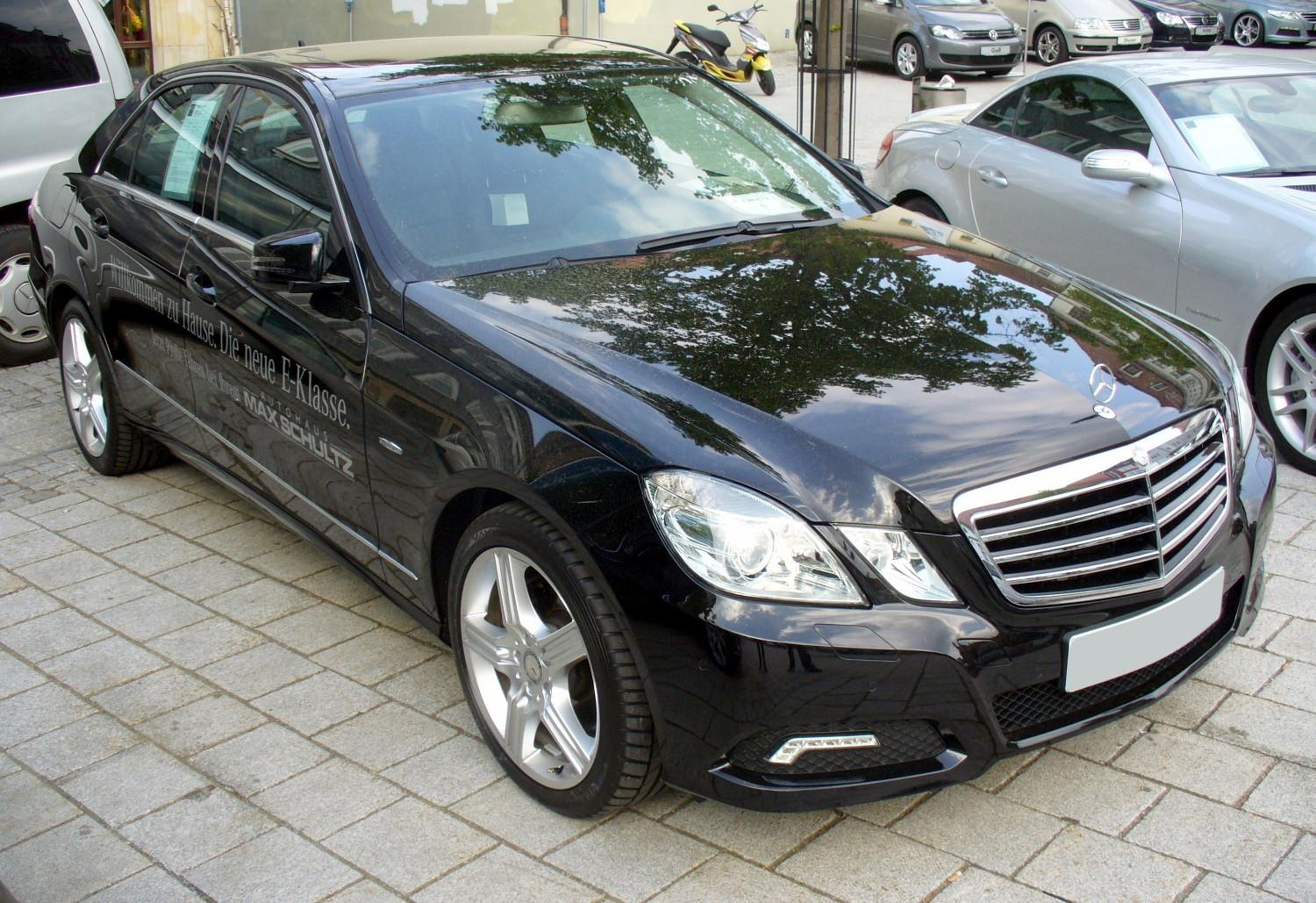 File Mercedes Benz W212 E 250 Cdi Obsidianschwarz Jpg Wikimedia Commons