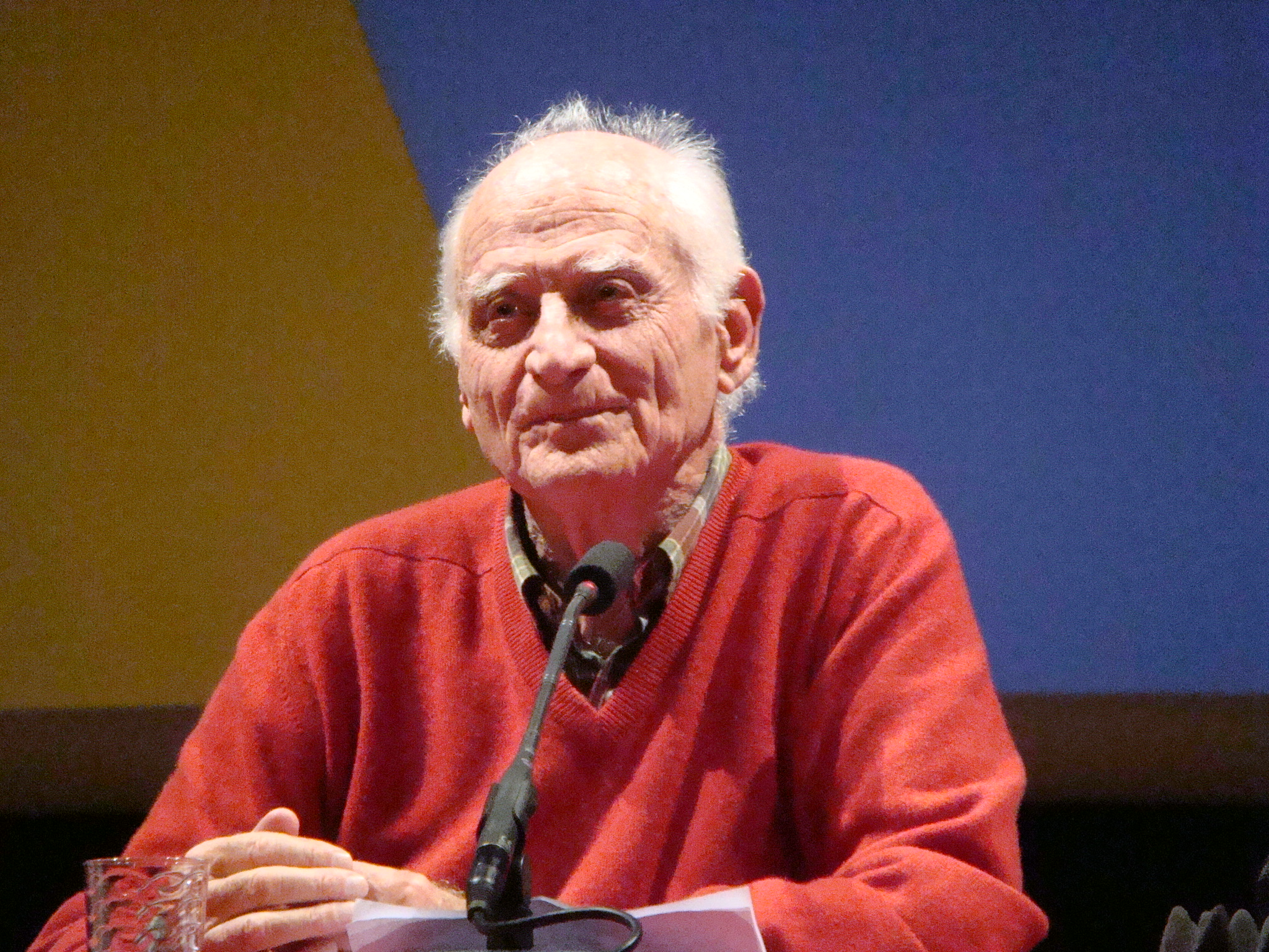 Michel Serres in [[Rennes]], February 2011