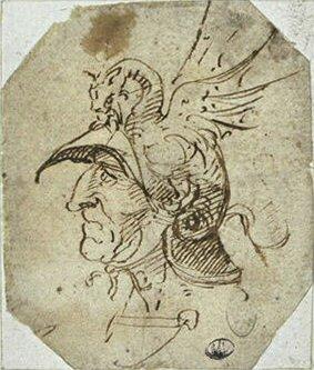 «Граф Каносский»(Рисунок Микеланджело)