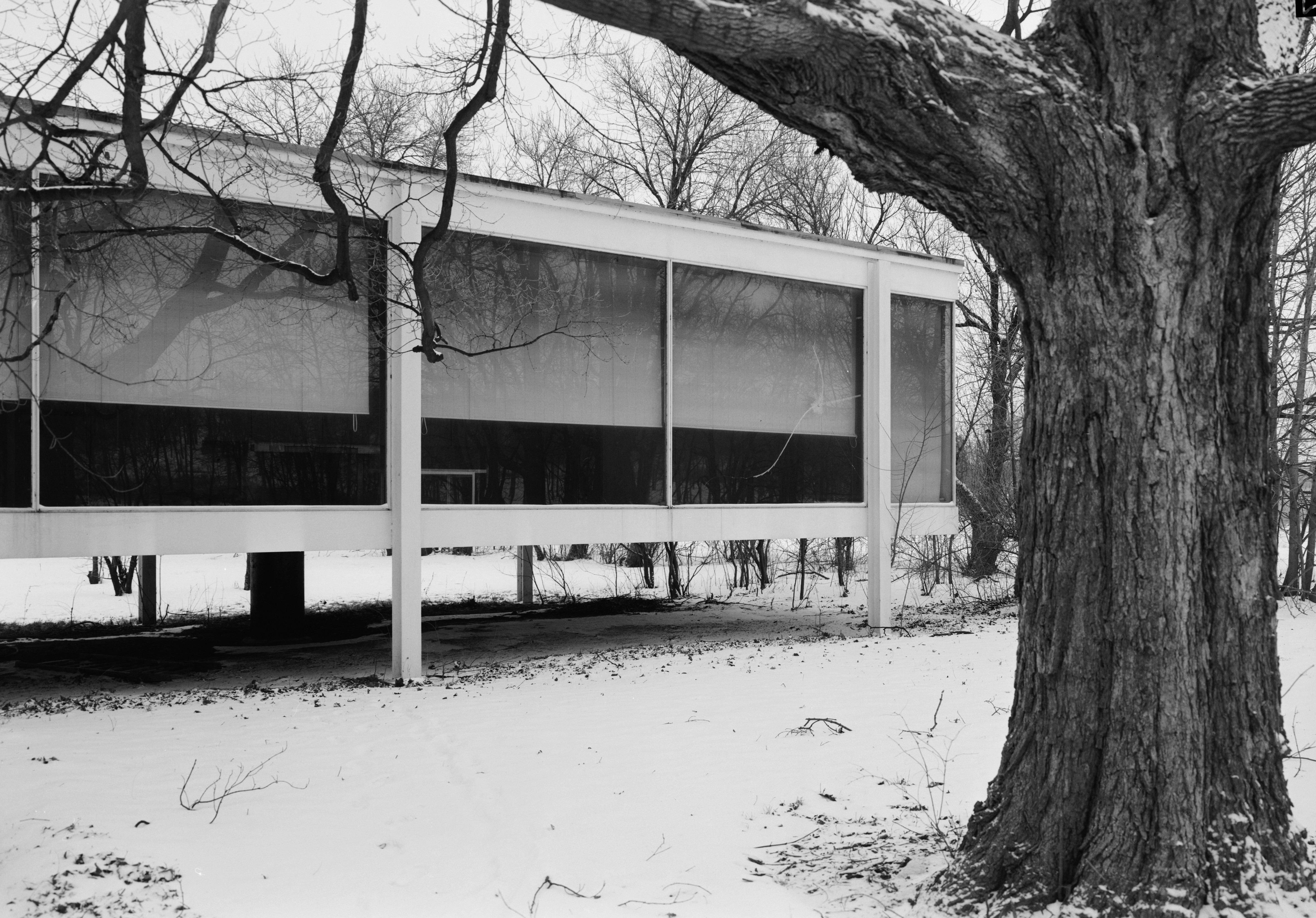 file mies van der rohe photo farnsworth house plano usa wikimedia commons. Black Bedroom Furniture Sets. Home Design Ideas