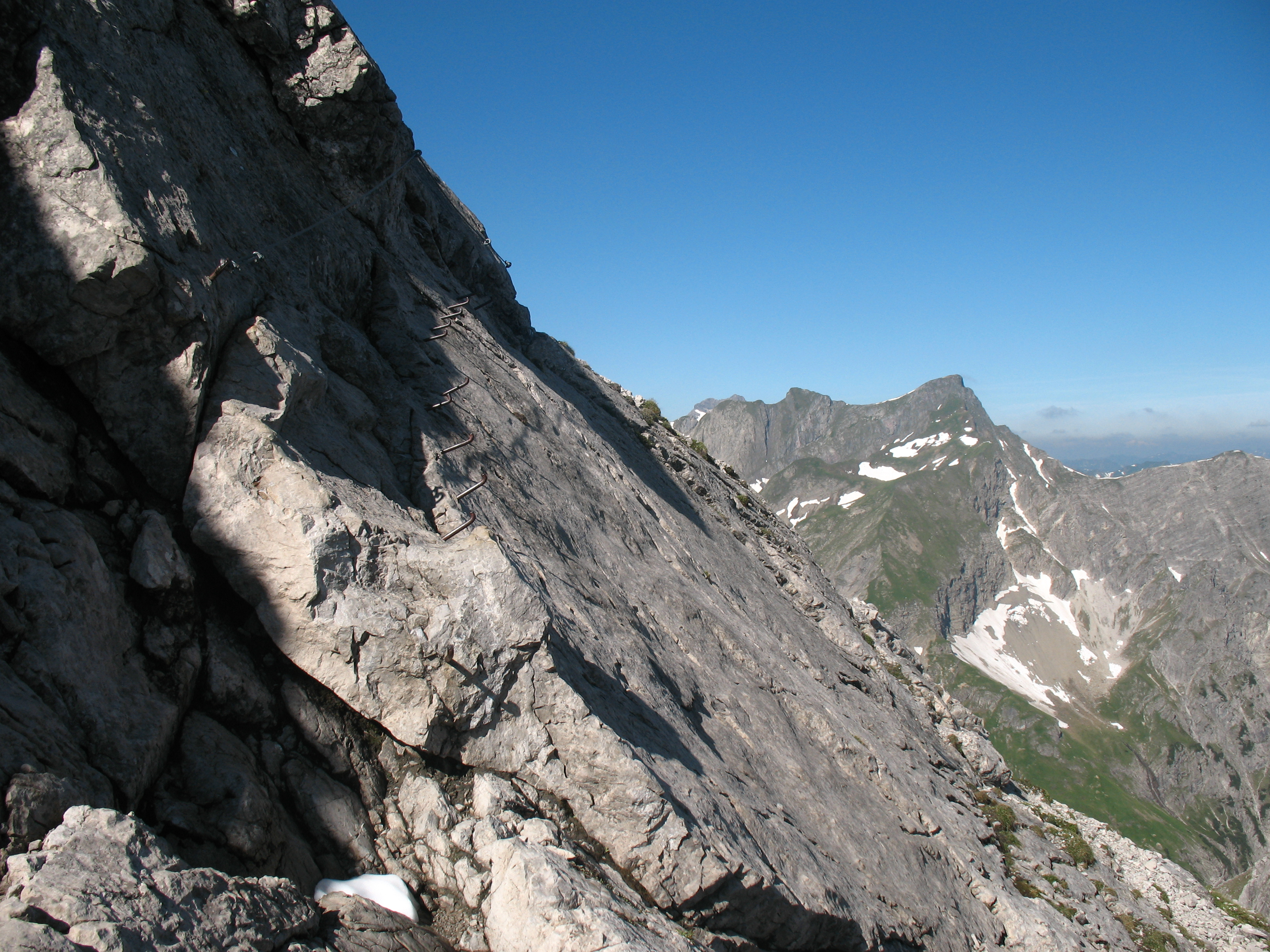 Klettersteig Mindelheimer : Klettersteig mindelheimer hÜtte