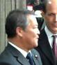 Minoru Yanagida cropped 2 Minoru Yanagida and Ambassadors 20101022.jpg