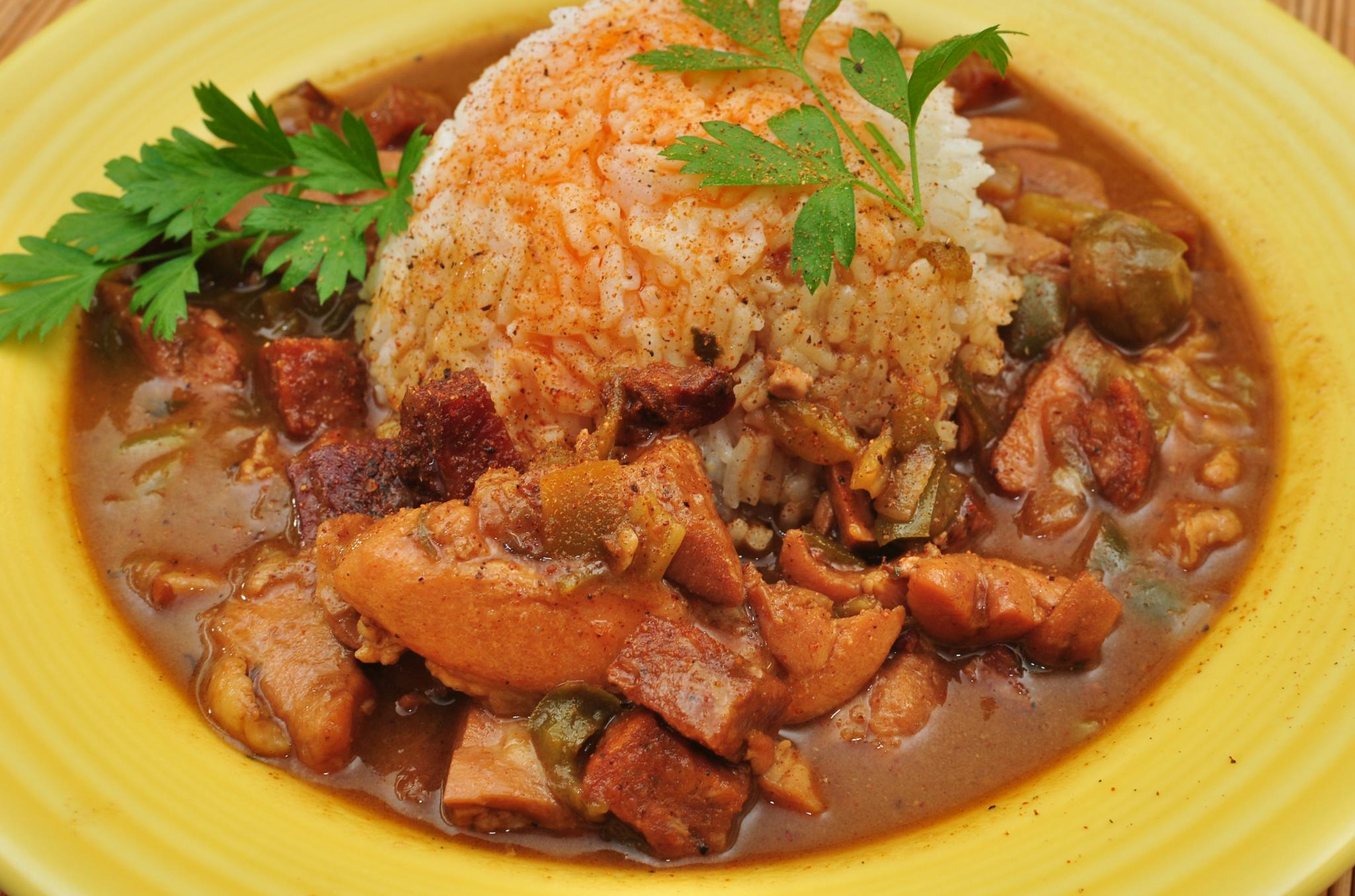 Description Mmm... chicken gumbo with Andouille and tasso (6751505711 ...