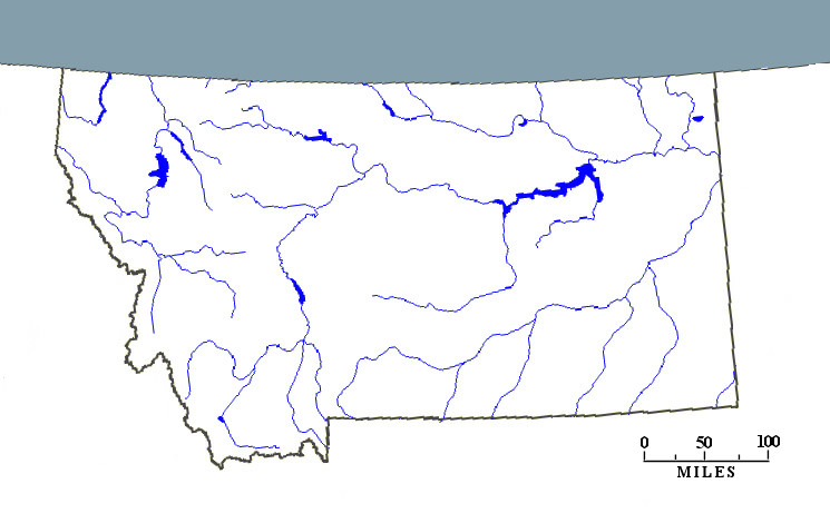 Map Of Montana Rivers