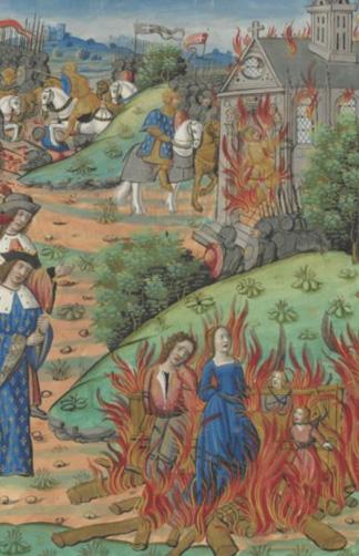 Бардак и отсутствие гуманизма в династии Меровингов