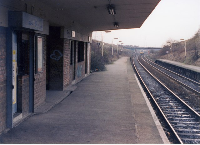 Moston Lane Past & Present Moston_Station_Peter-Whatley