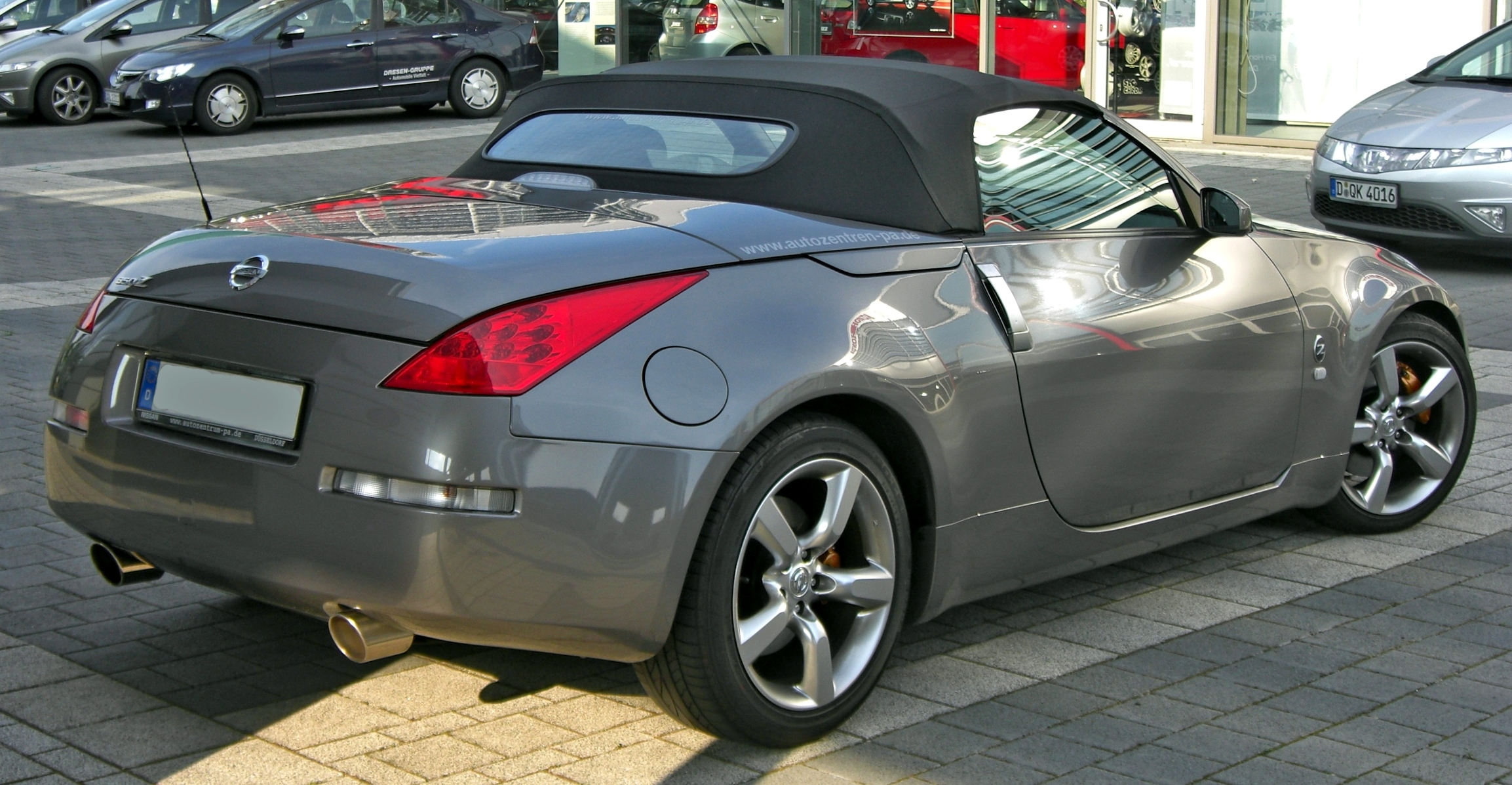 nissan 350z wikipedia autos post. Black Bedroom Furniture Sets. Home Design Ideas