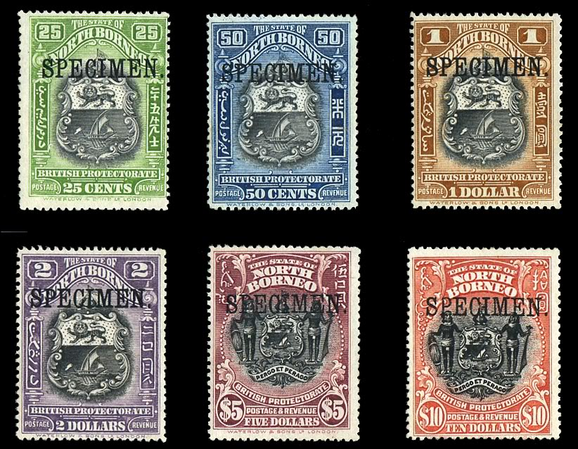 Postage Stamps And Postal History Of North Borneo Wikipedia