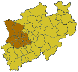 Regierungsbezirk in North Rhine-Westphalia, Germany