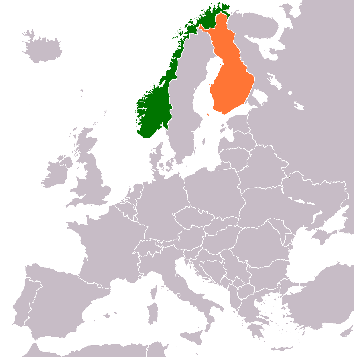 Finland Norway Relations Wikipedia