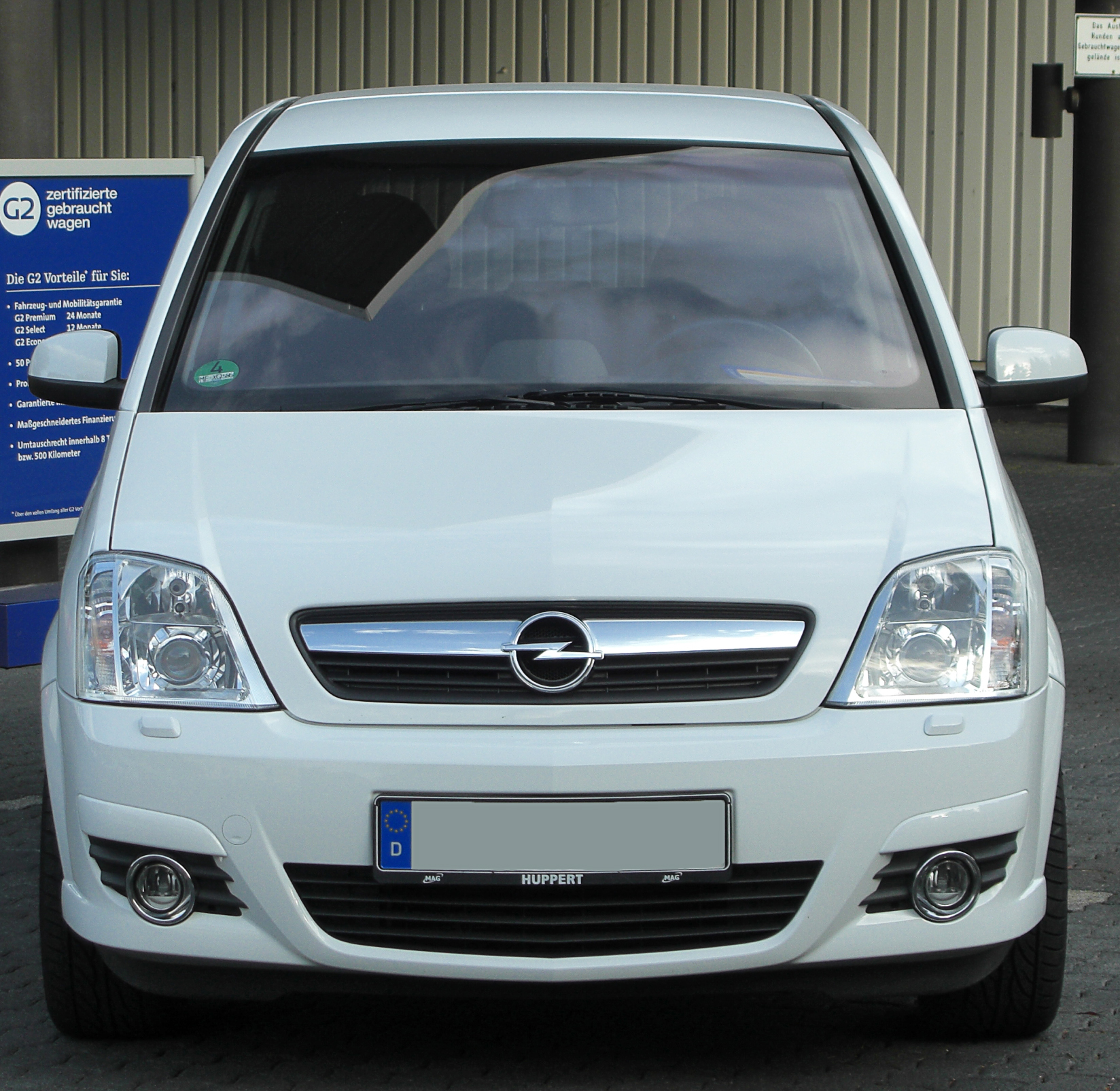 file opel meriva a 1 8 cosmo facelift front 3 wikimedia commons. Black Bedroom Furniture Sets. Home Design Ideas