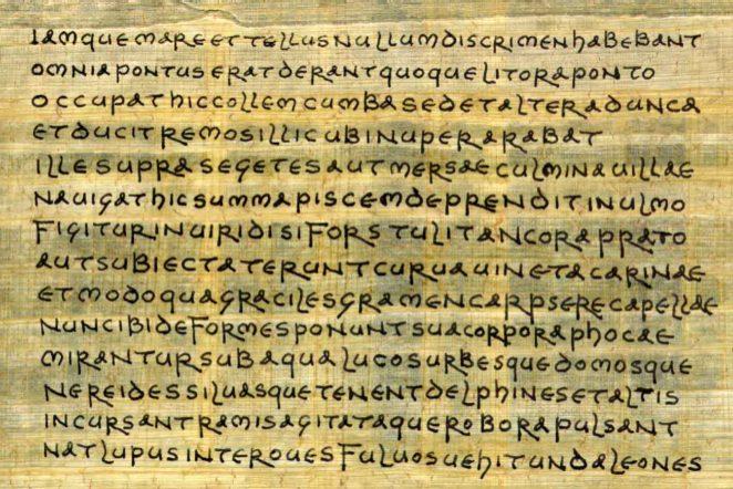 Ovidius - metamorfózis