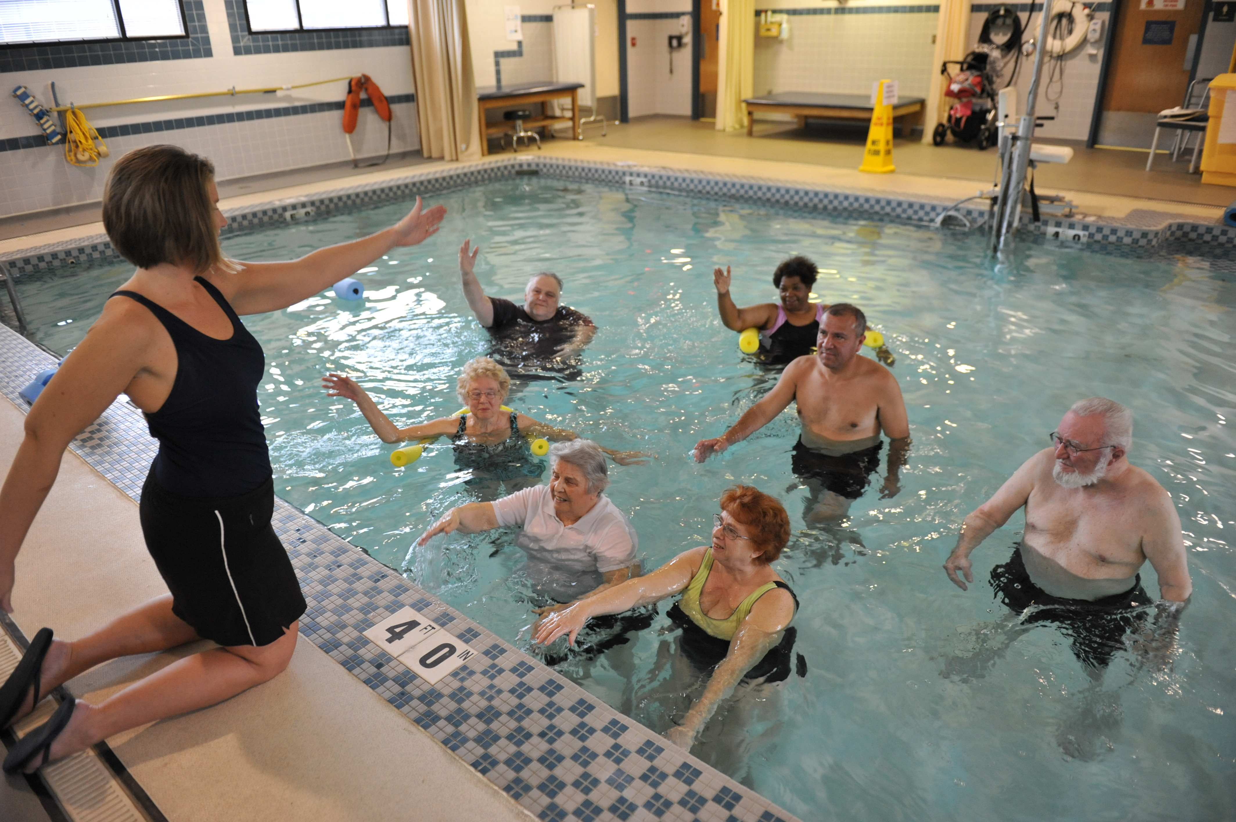 Image result for hydrotherapy pool exercises