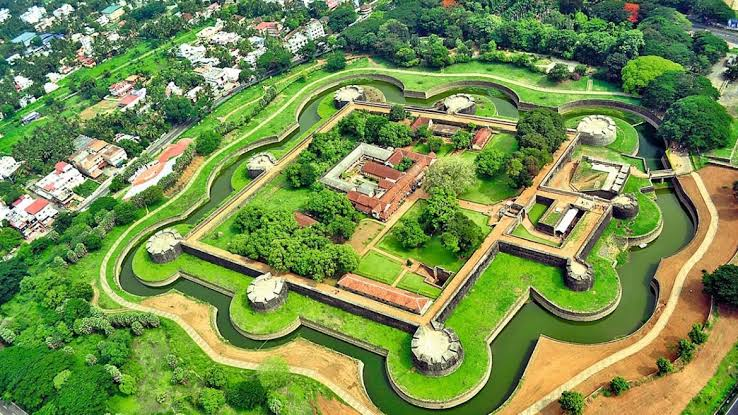 A click of Palakkad Fort