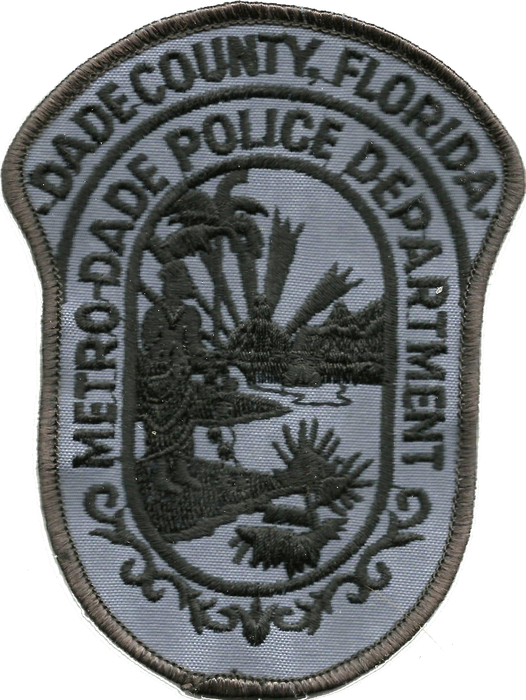 File:Patch of the Metro-Dade Police Department (subdued) png