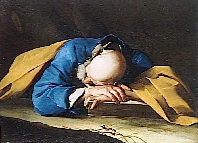 Travail pendant le sommeil dans DEVELOPPEMENT Petrini_-_Le_sommeil_de_Saint_Pierre