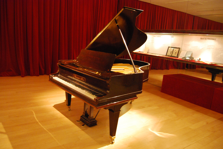 Piano de Mompou, en el Museo de la Música de Barcelona