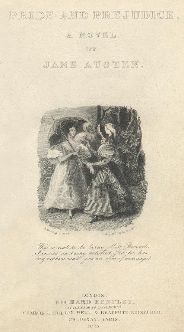 Pride and Prejudice, Jane Austen - Essay