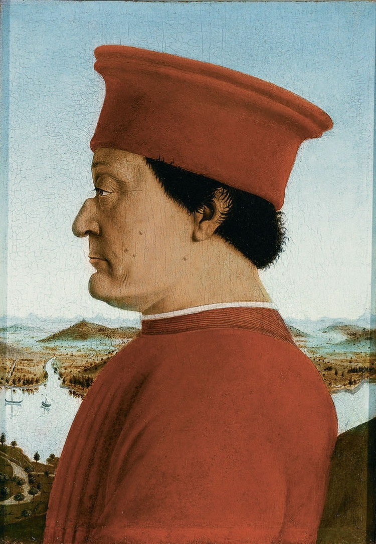 SMÖRET ÄR SLUT Piero,_Double_portrait_of_the_Dukes_of_Urbino_02
