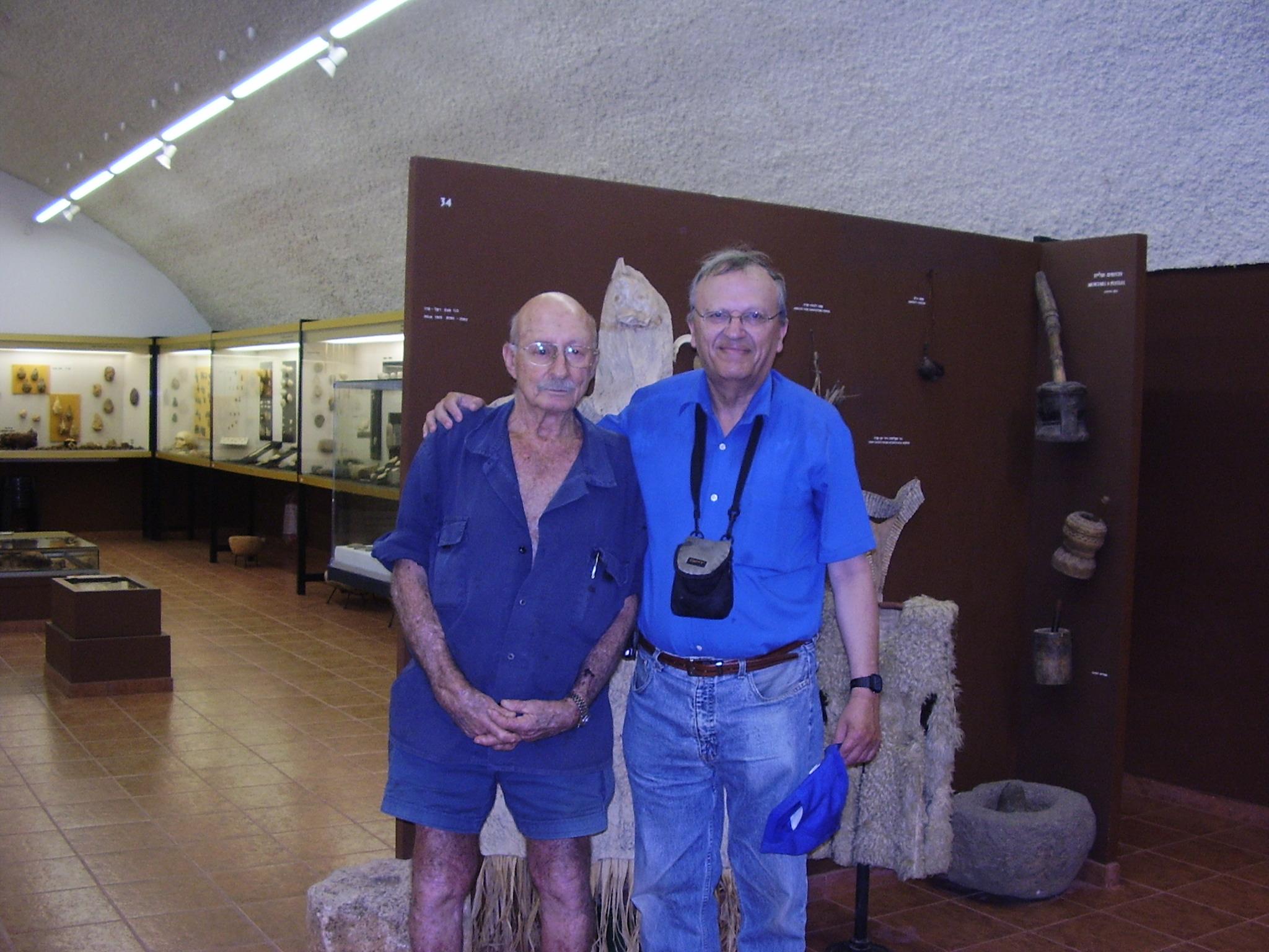 Maayan Baruch Israel  city pictures gallery : :PikiWiki Israel 32243 The Prehistoric man museum in Kibbutz Maayan ...