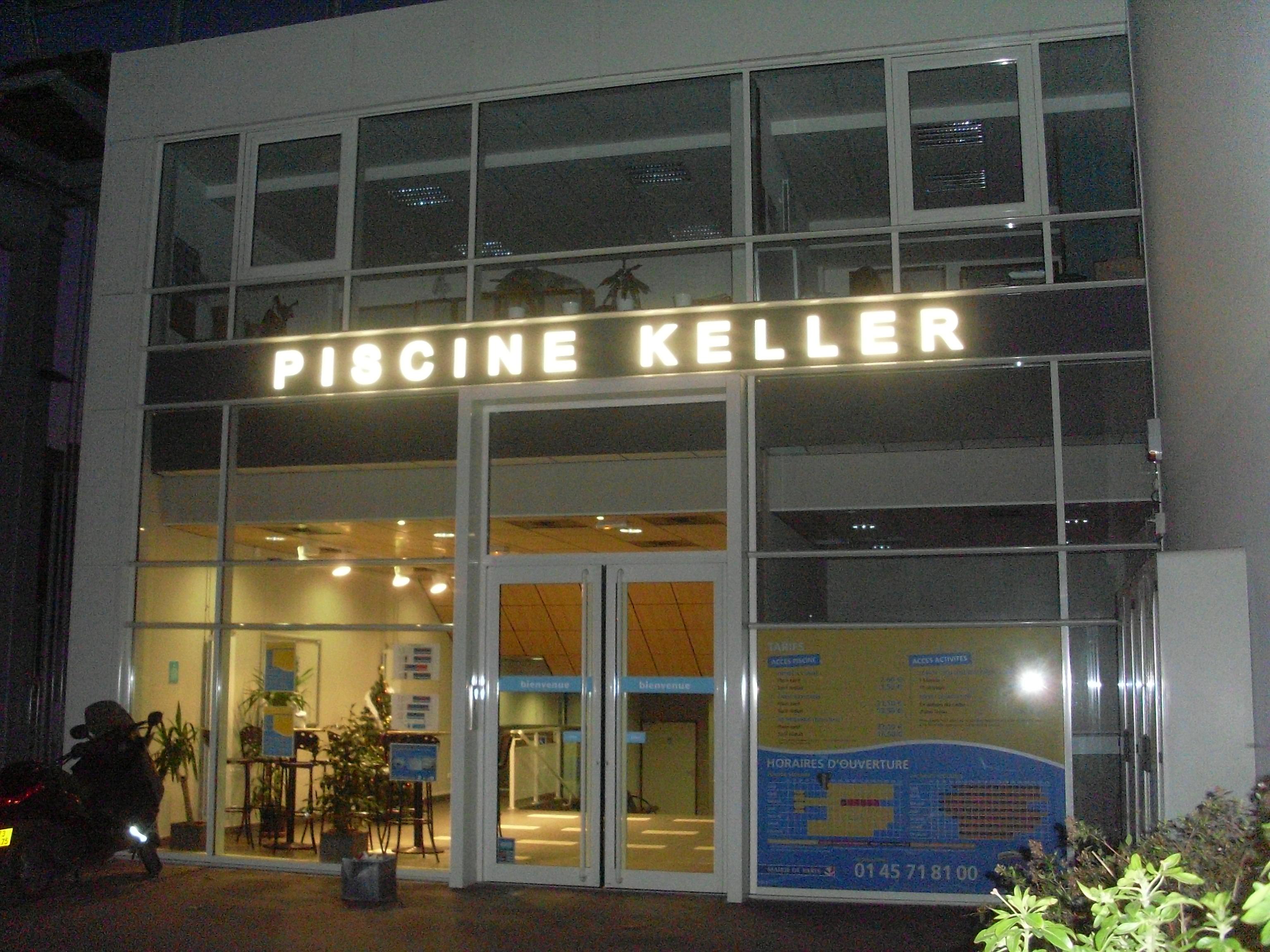 Onvasortir paris le site accueil for Piscine keller
