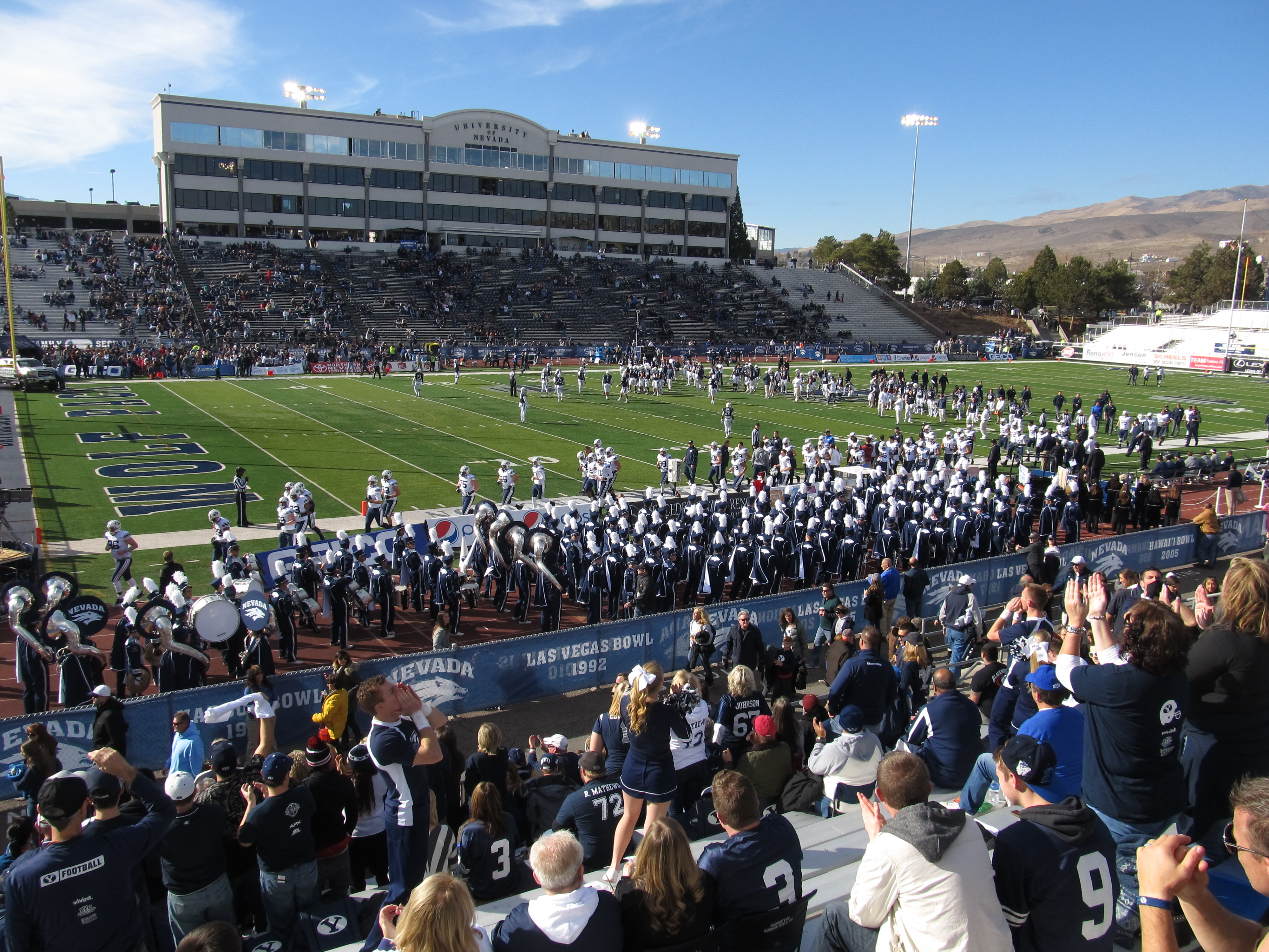 the stadium may decrease slightly the seating capacity as the university plans for upgraded seating options prior to the 2014 football season. In 2013