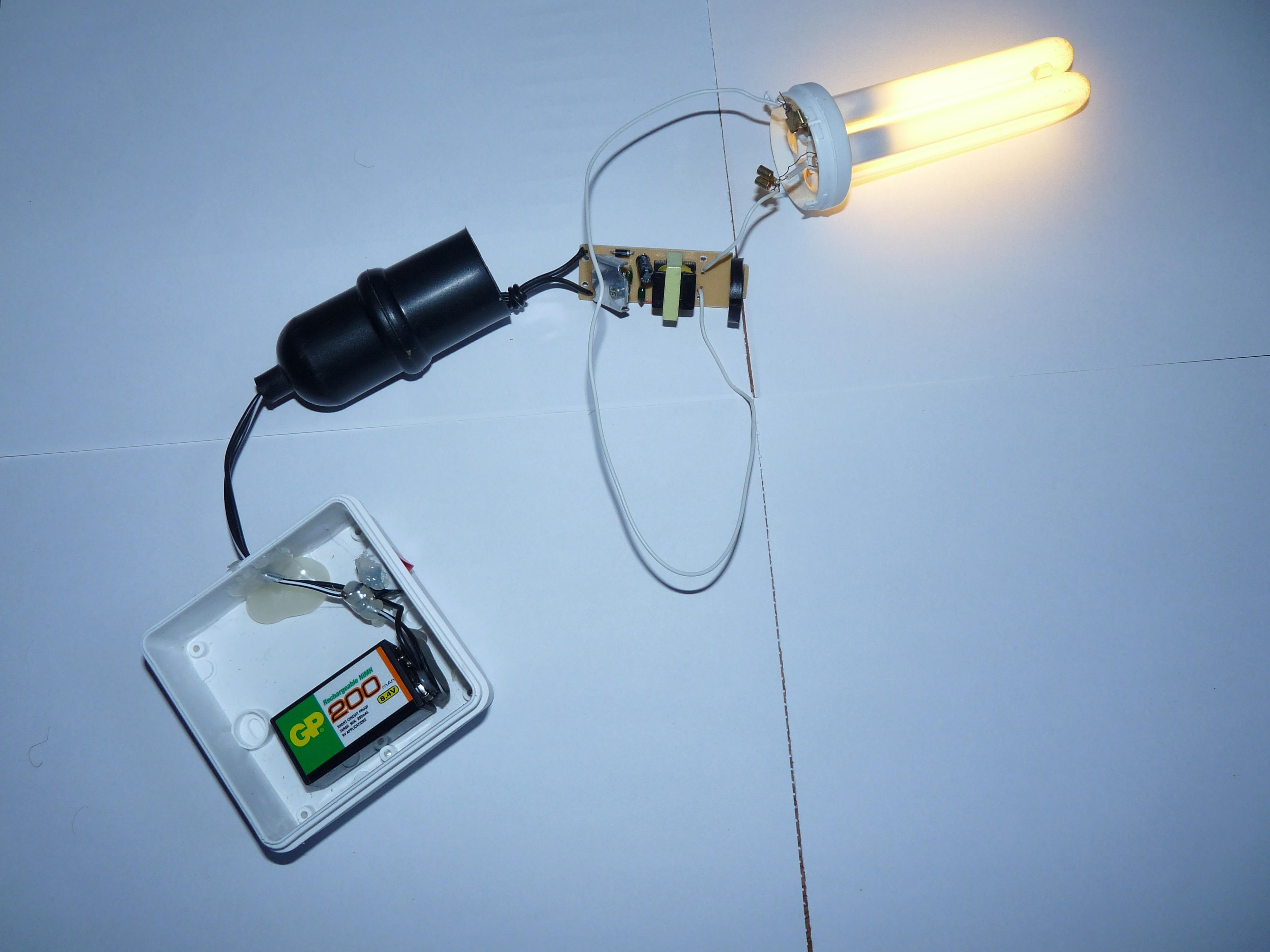 схема включения лампы днат-70