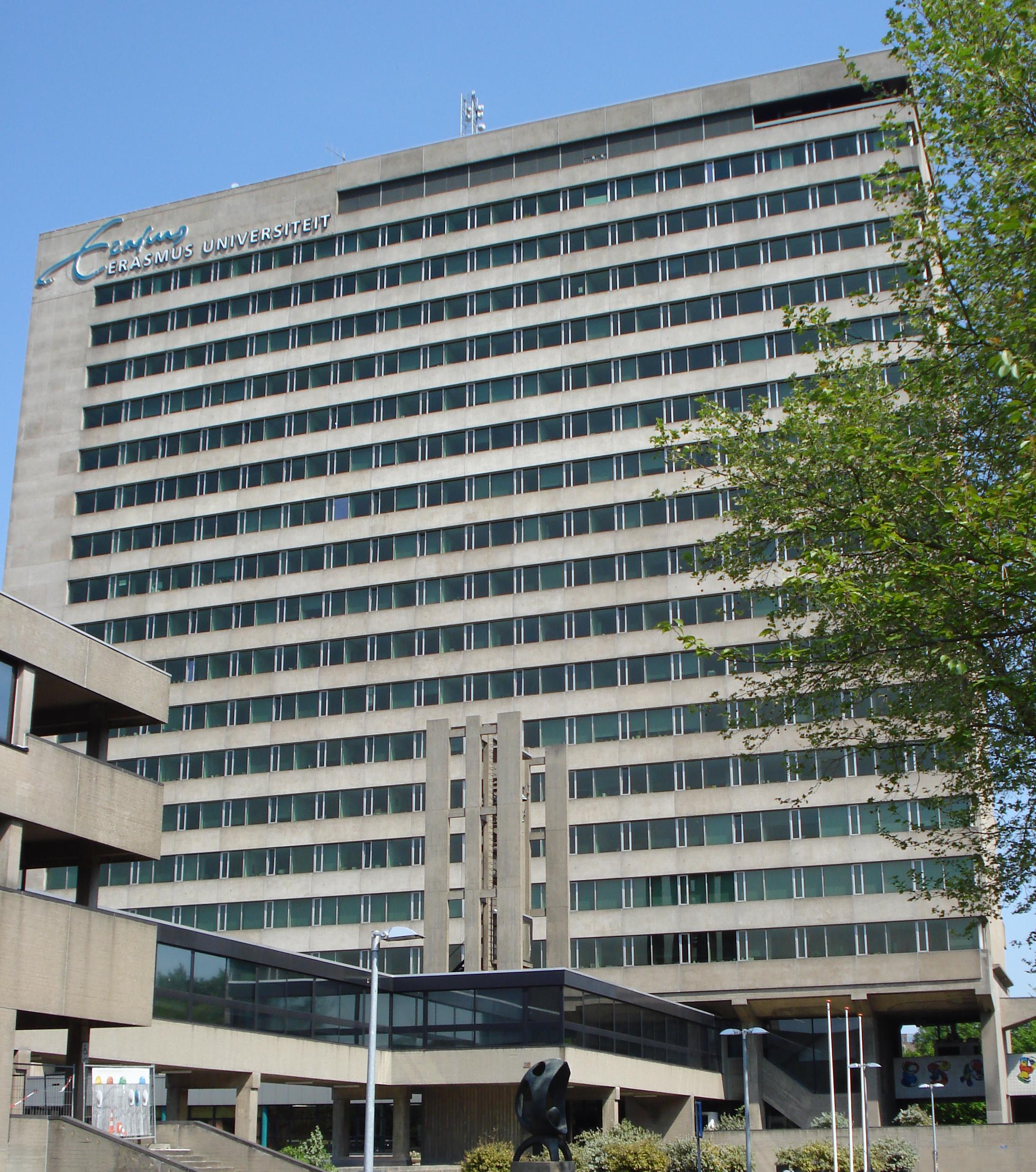 Beschrijving rotterdam universiteit faculteitsgebouw