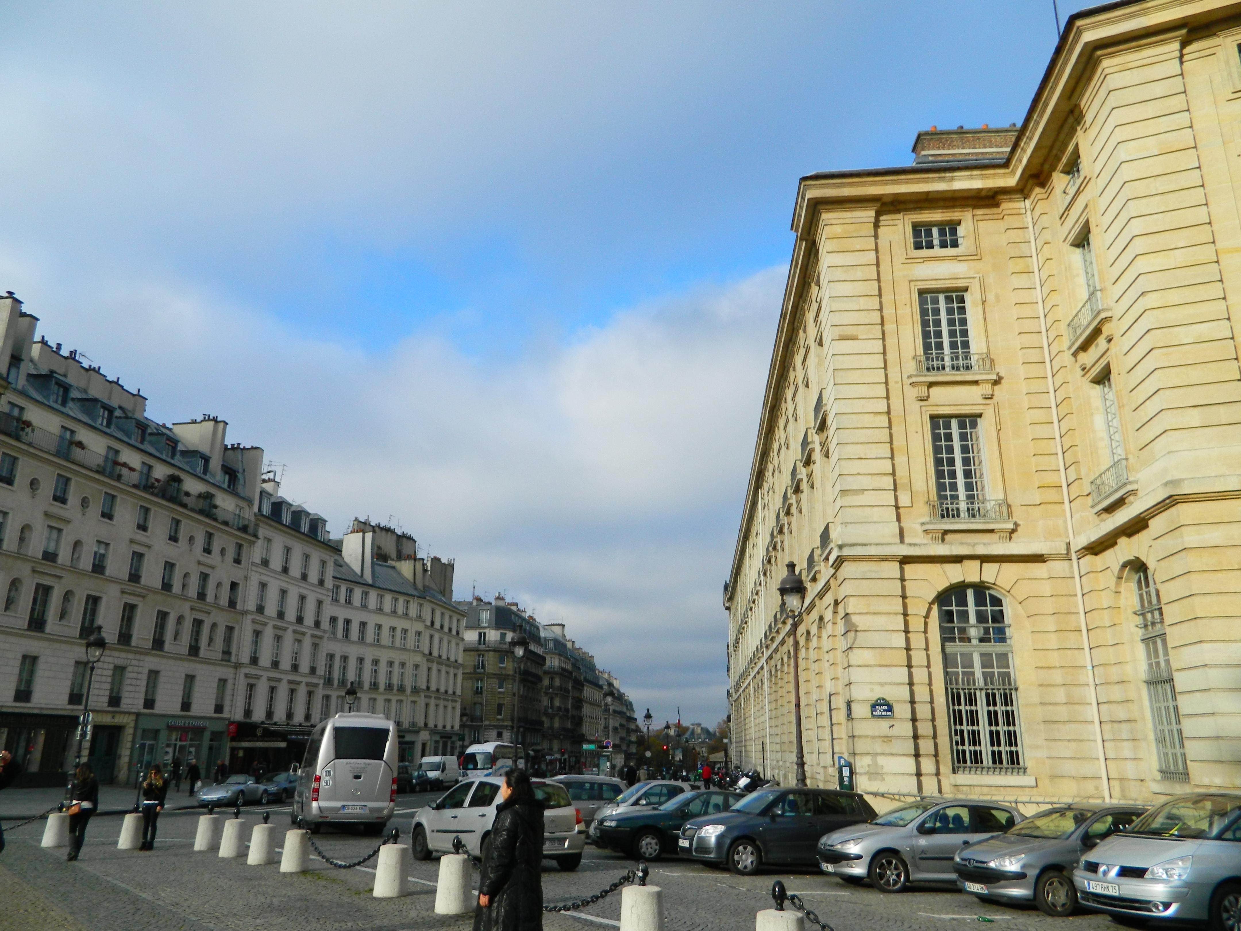 Paris Rue Soufflot Caf Ef Bf Bd Le Maheu