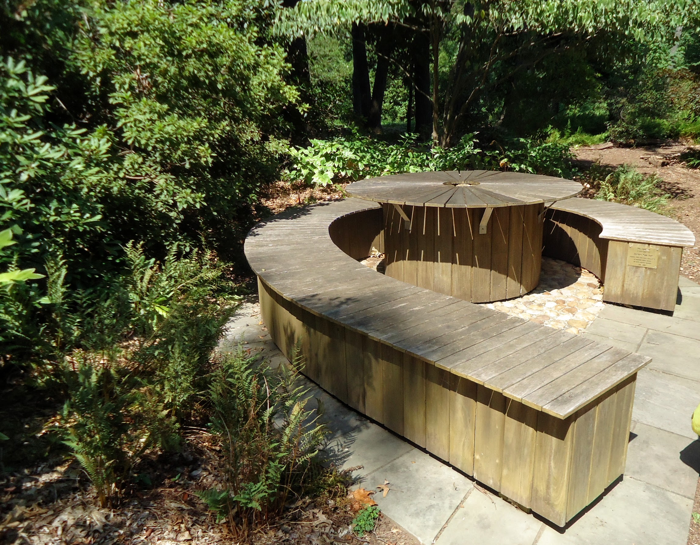 File:Rutgers Gardens in New Brunswick New Jersey bench Image Number ...