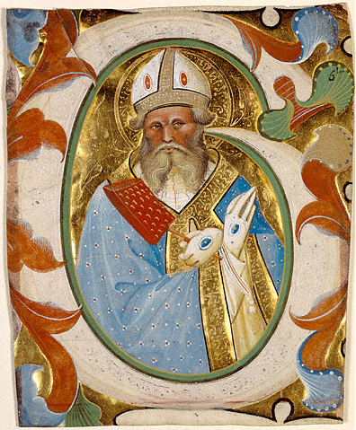 Saint Blaise - Master of the Murano Gradual