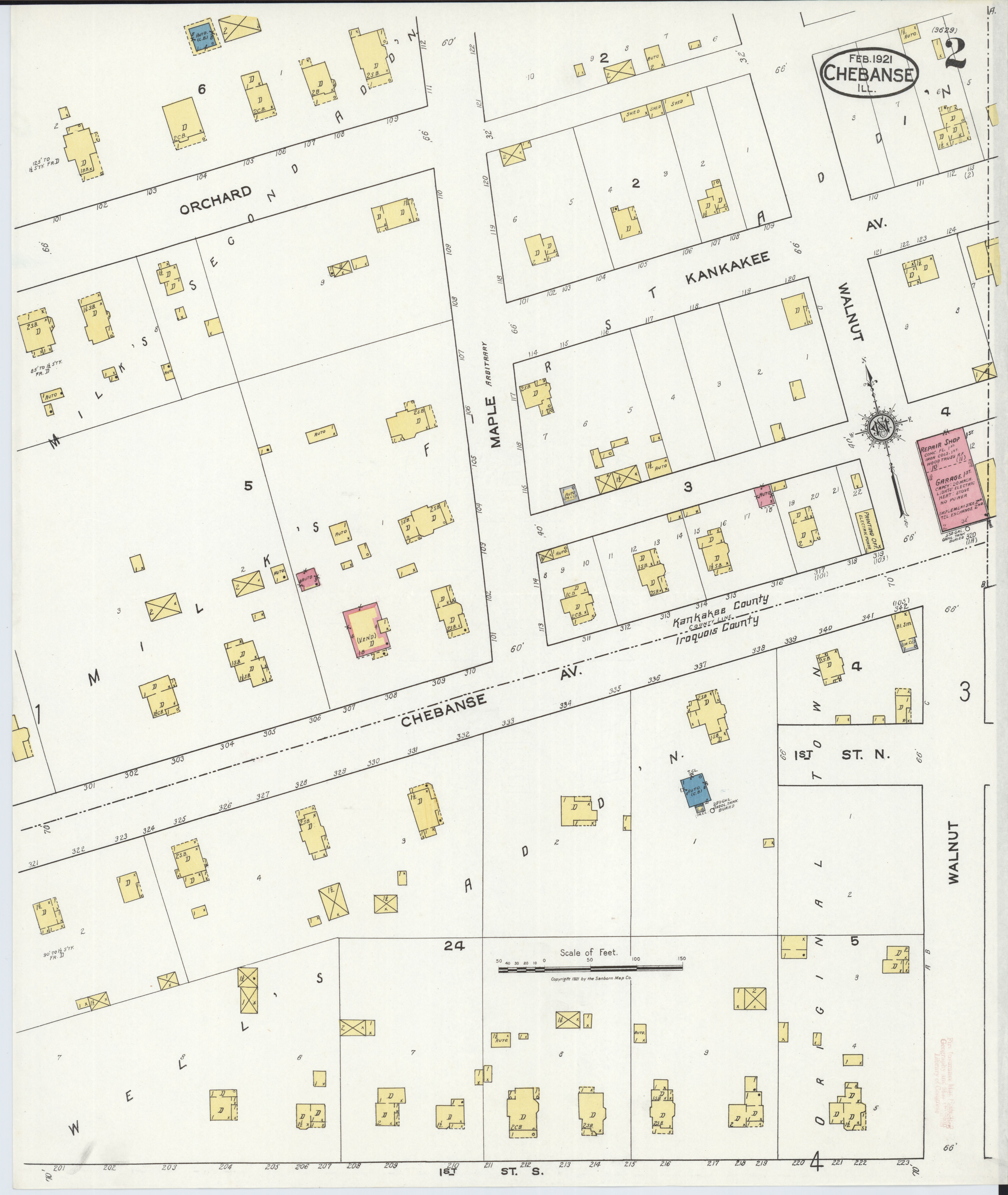 File:Sanborn Fire Insurance Map from Chebanse, Iroquois And Kankakee on grand rapids county map, boone county map, wheaton county map, lincoln county map, tinley park county map, wheeling county map, il county map, crenshaw county map, piatt county map, dayton county map, elk grove village county map, grundy county map, rockford county map, cincinnati county map, peoria county map, sioux city county map, brown county map, jefferson county map, wilmington county map, effingham county map,