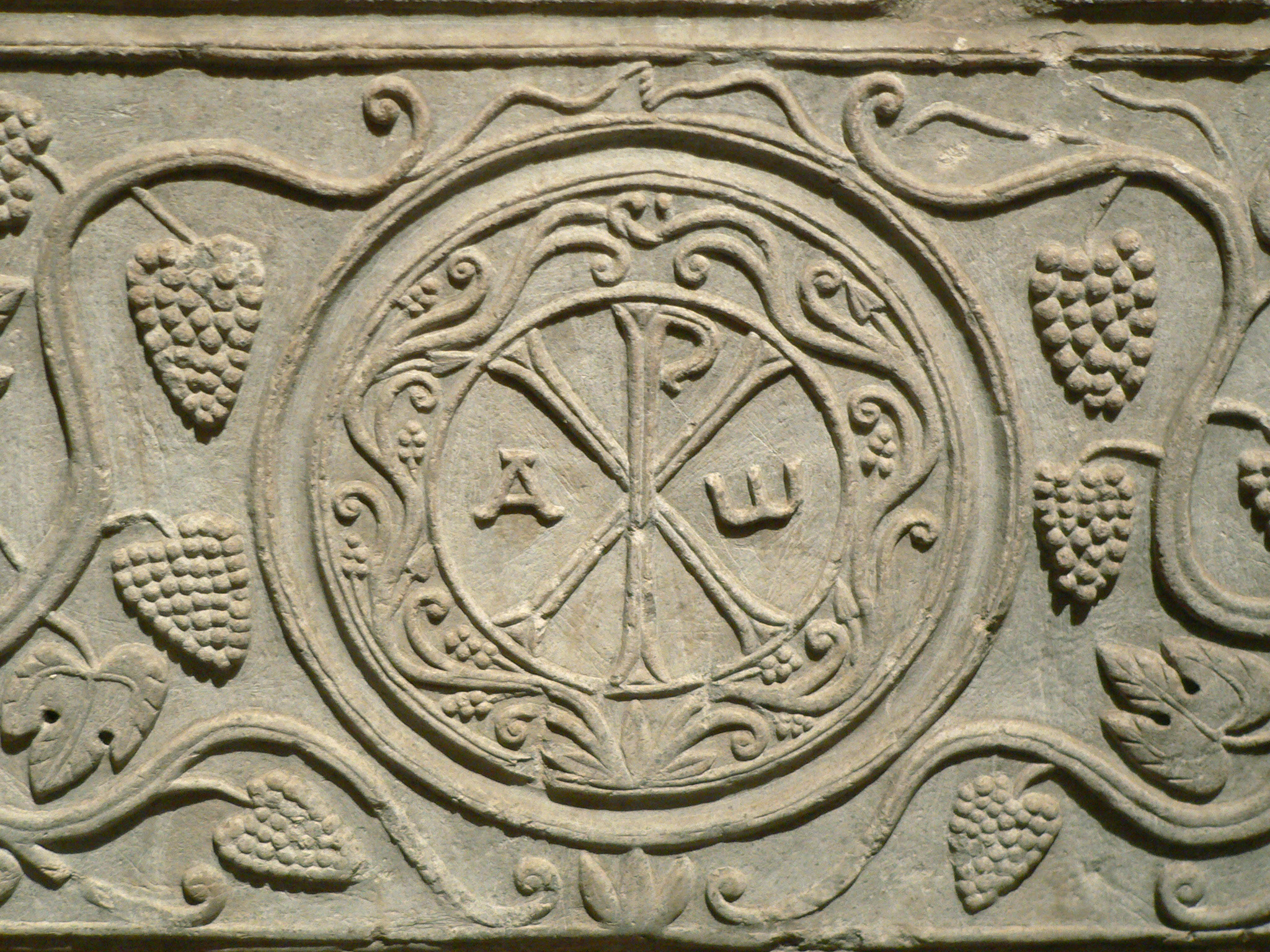 The monogram of Christ's name.