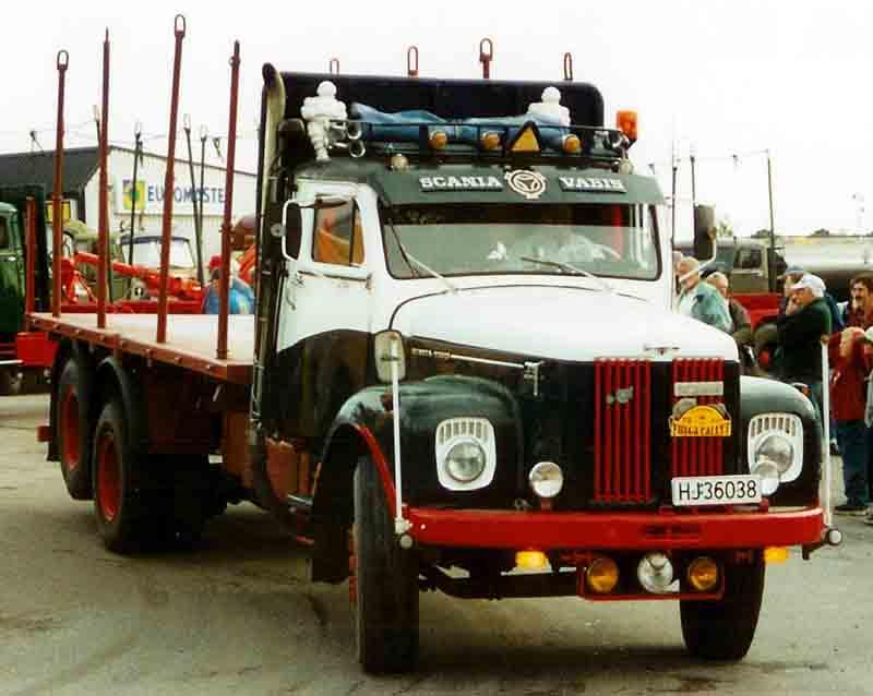 Scania Trucks History