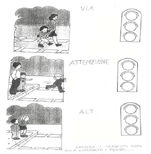 Ben noto I Semafori (scuola dell'infanzia) - Wikiversità TH85