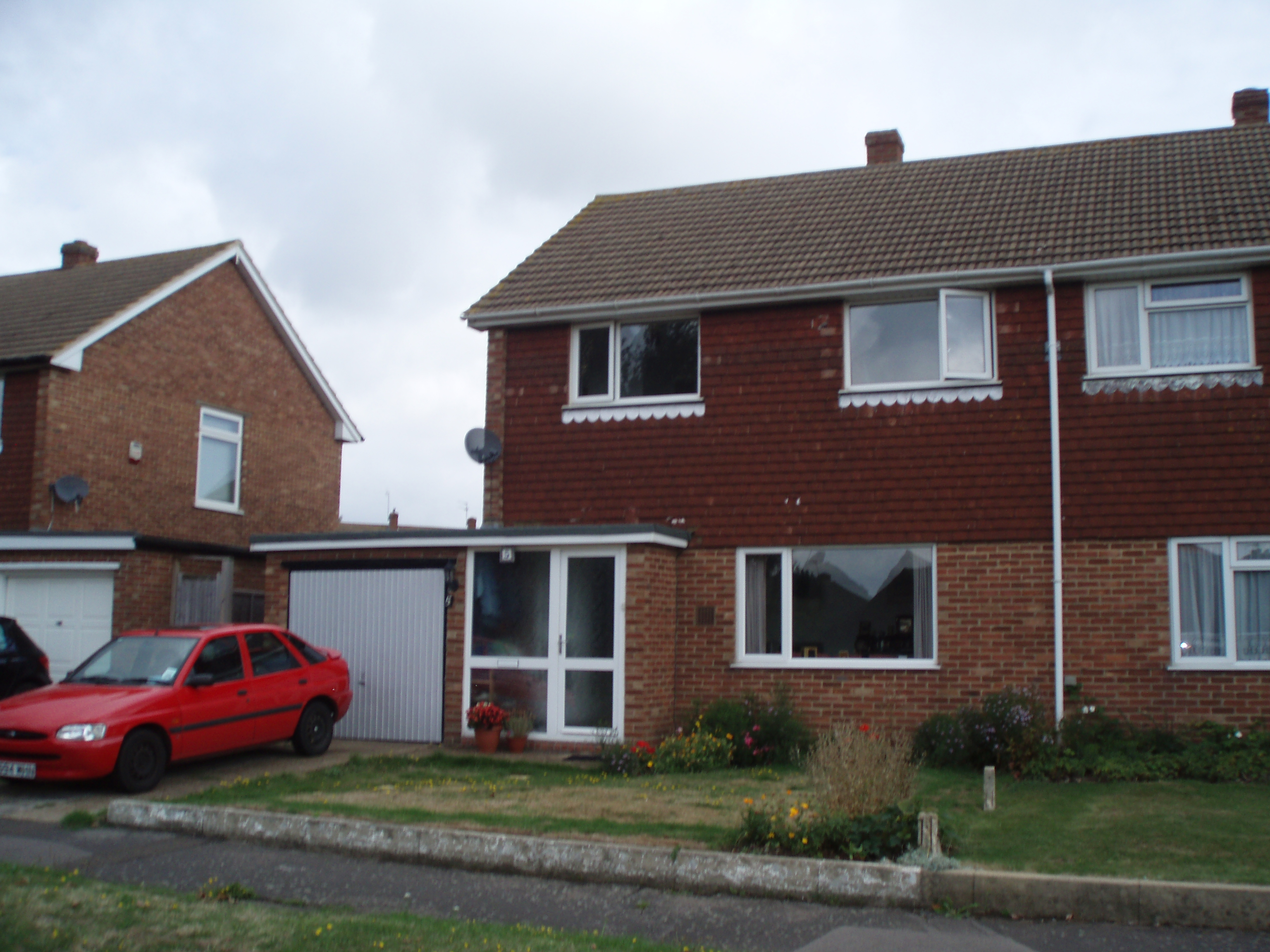 Semi Detached House file:semi-detached house with ford escort car - wikimedia commons