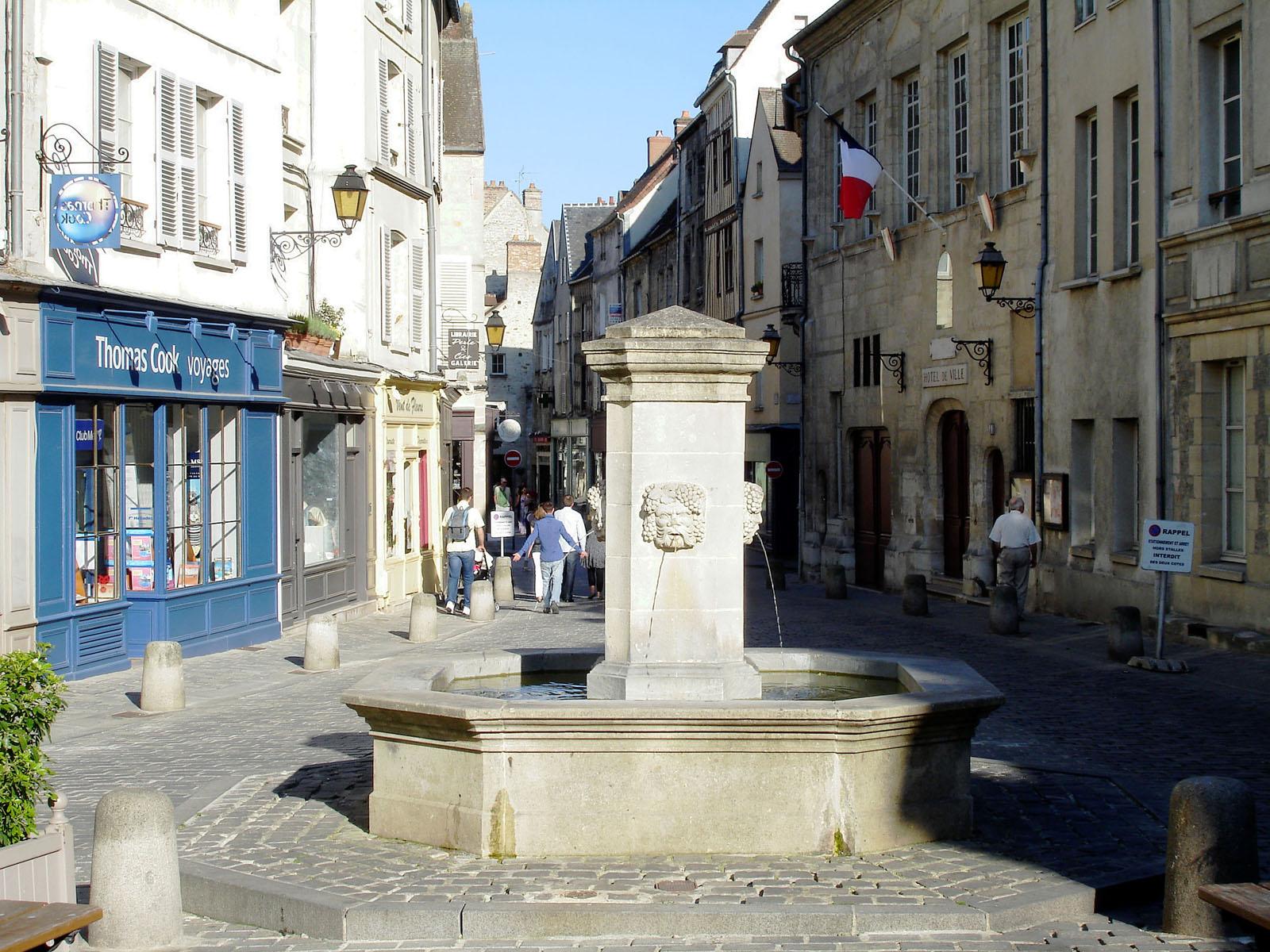 Ville Saint Maurice France