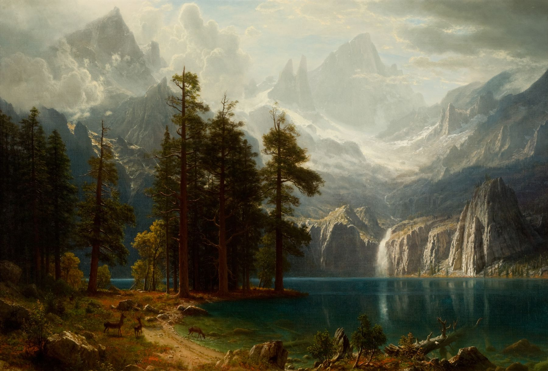 File sierra nevada albert bierstadt circa for Americas best paint