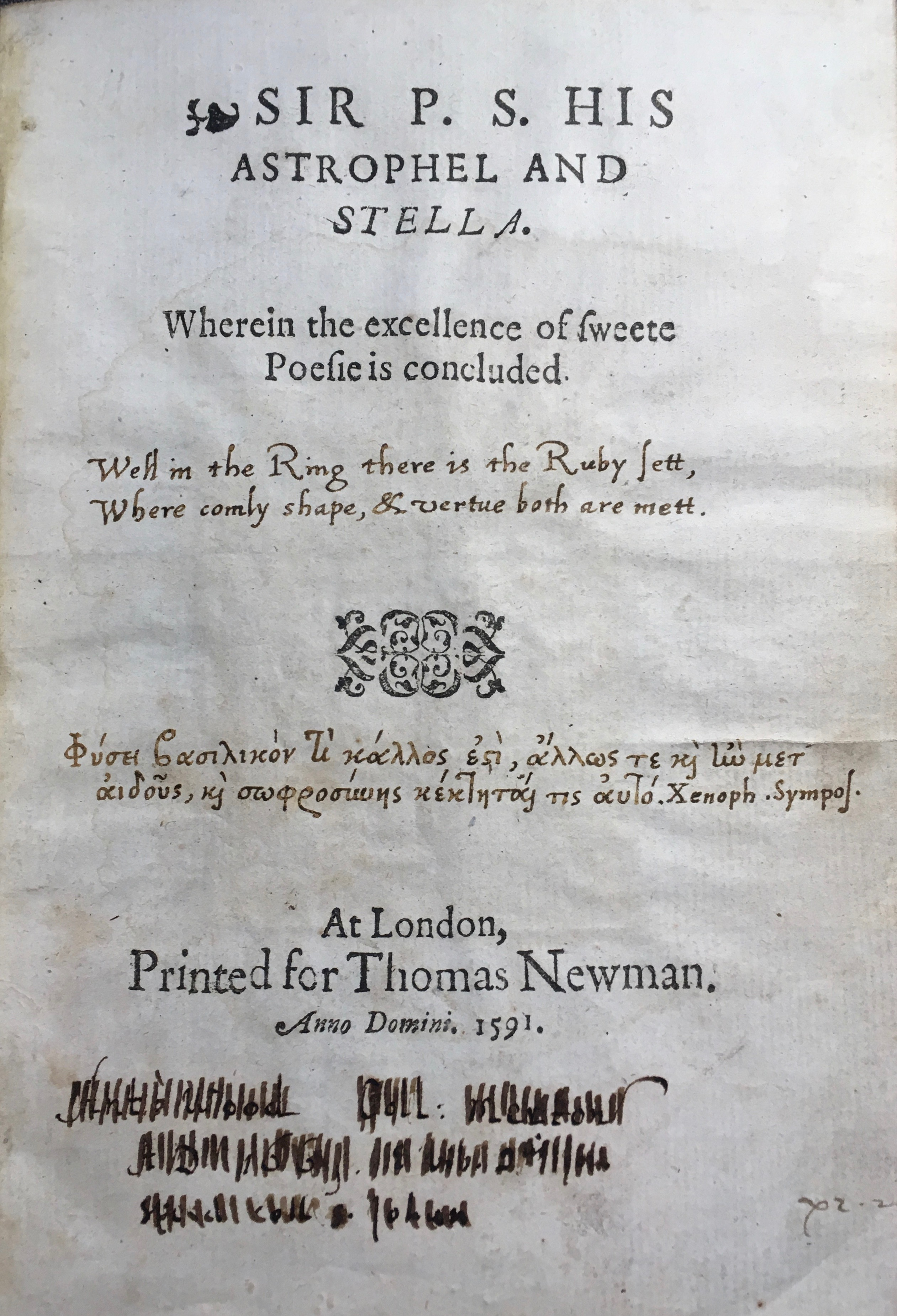 astrophil and stella sonnet 5 summary