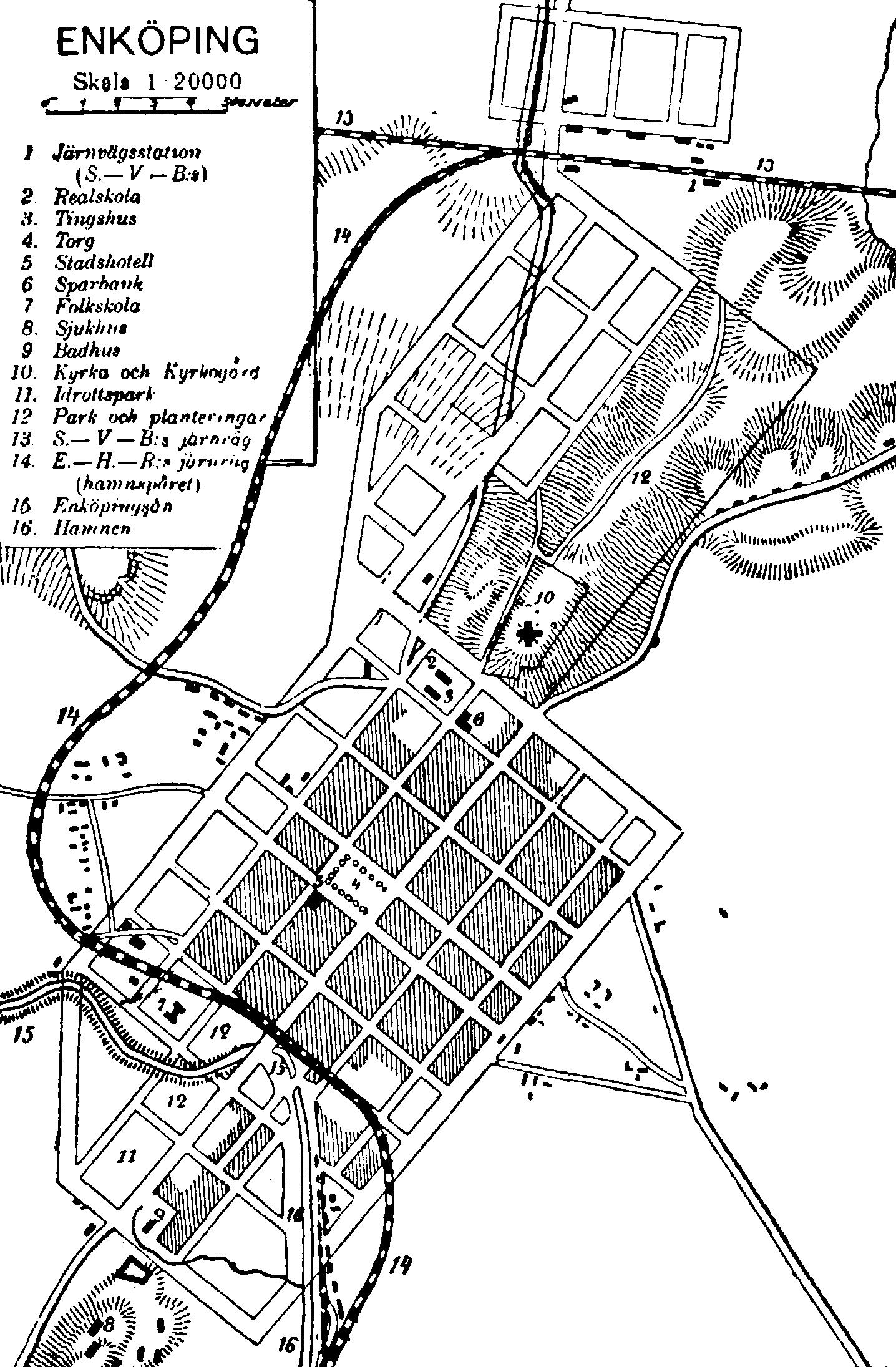 FileSituationsplan af Enköping, Nordisk familjebok.png