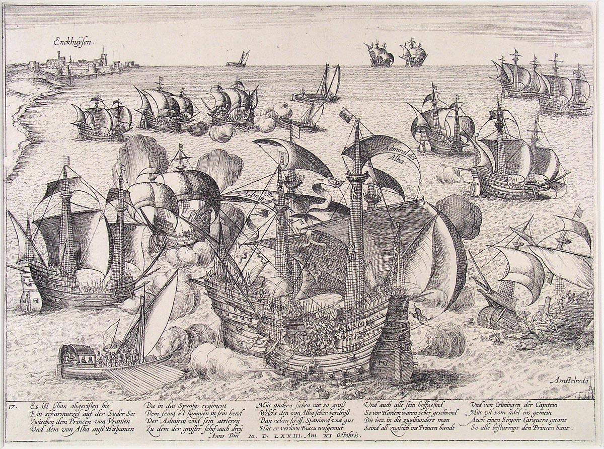File:Slag op de Zuiderzee - Battle of the Zuiderzee in 1573 (Frans Hogenberg
