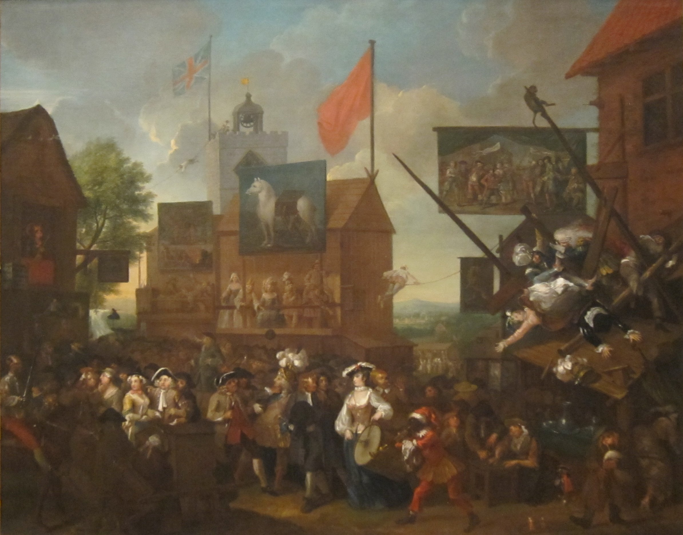 File:Southwark Fair by William Hogarth (English, 1733.jpg