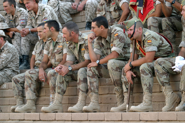 The Spanish military : pics